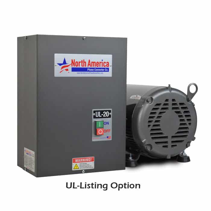UL-20 UL-Listing Option