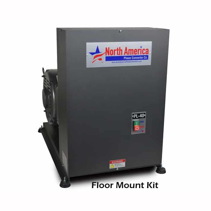PL-40Ua Floor Mounting Kit