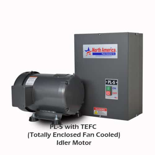 PL-5 with TEFC Idler Motor