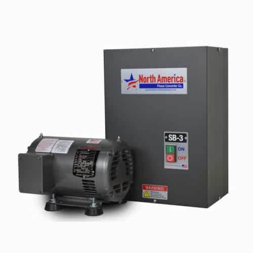 SB-3 Smart-Boost 3HP Digital Rotary Phase Converter