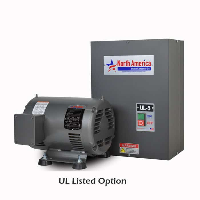 UL-5 UL Listed 5HP Converter