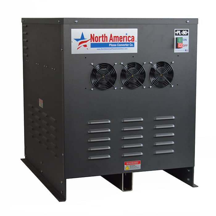 PL-80 Pro-Line 80HP Rotary Phase Converter